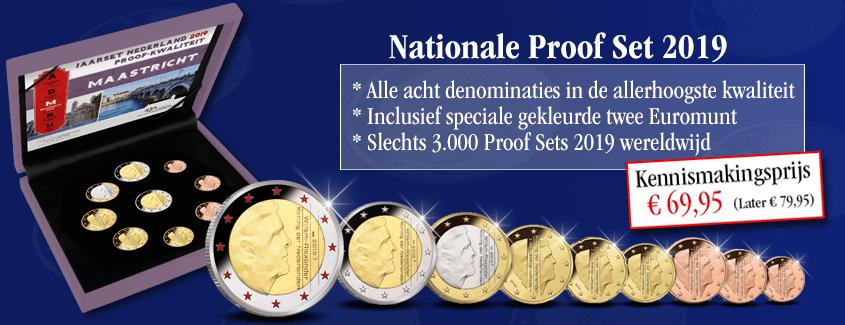 Officiële Nationale Proof Set Collectie reserveren